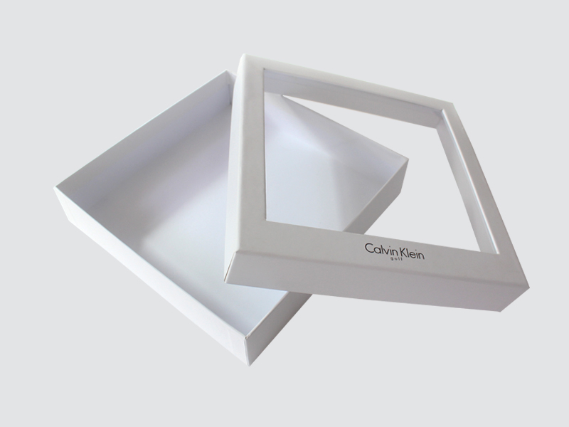 CharmPrinting fashion design clothing packaging boxes white paperboard for clothes-2