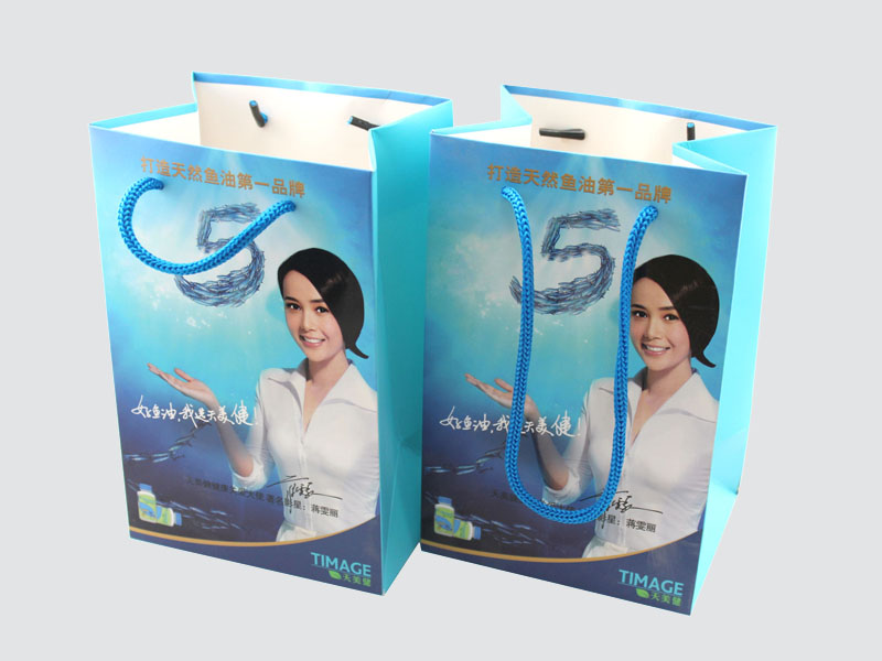 Charm Printing OEM paper gift bags fashion design for paper bag-2