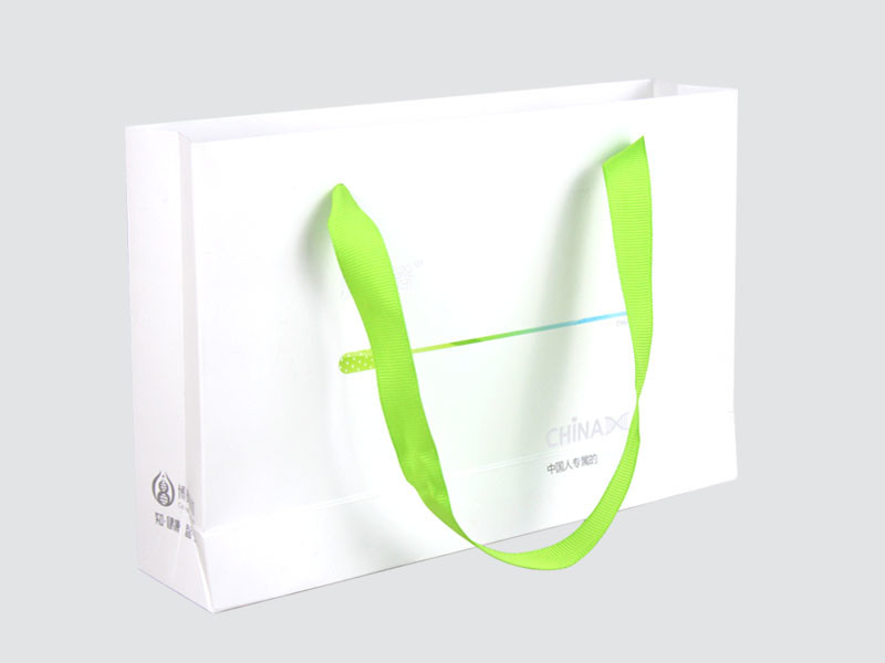 paper bags with handles on-sale for gift box Charm Printing