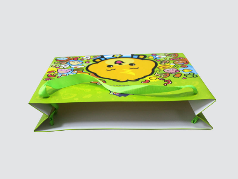 CharmPrinting paper shopping bags fashion design for paper bag-1