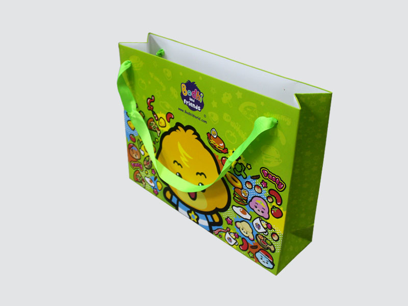 OEM paper bag fashion design for paper bag