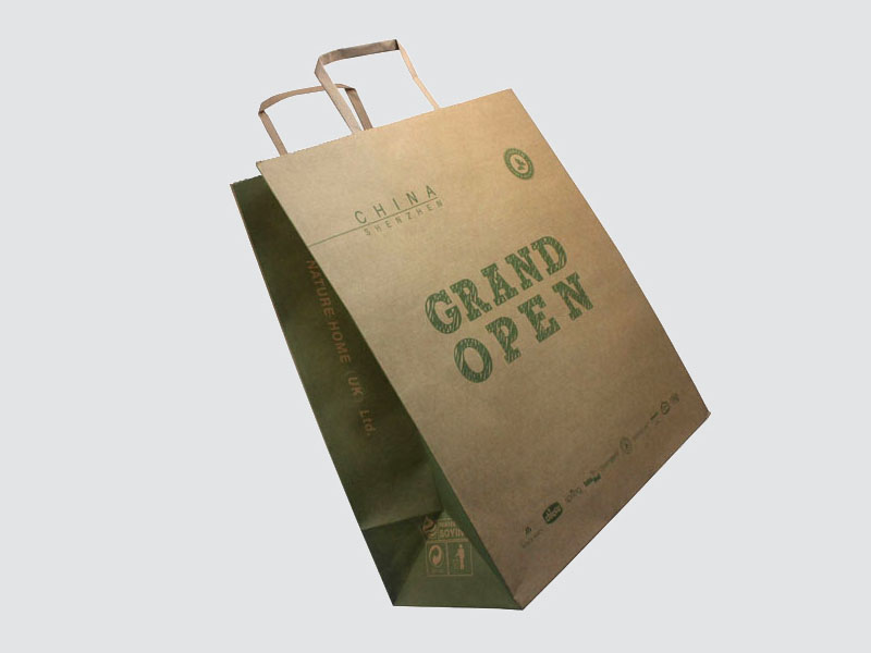 custom paper gift bags fashion design for shopping bag-1