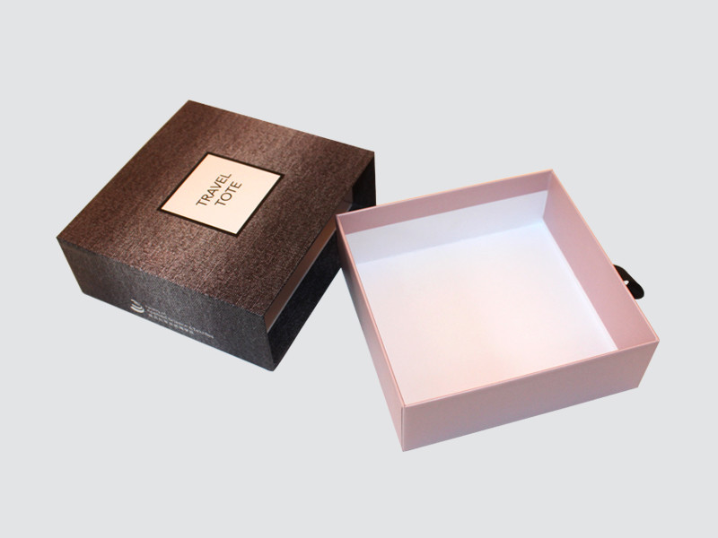 Charm Printing with ribbon perfume packaging box colorful for fashion women