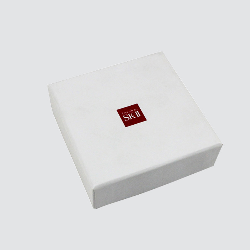 Custom White Color Lid And Base Gift Box for Cosmetic Packaging
