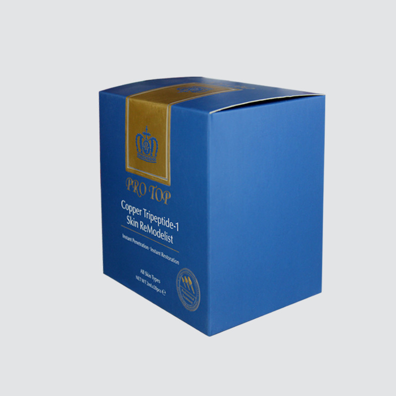 Special personalized Card Cosmetics Packaging Box