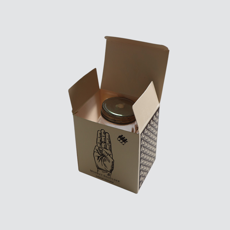 Custom Luxury  Card Gift Box Candle packaging