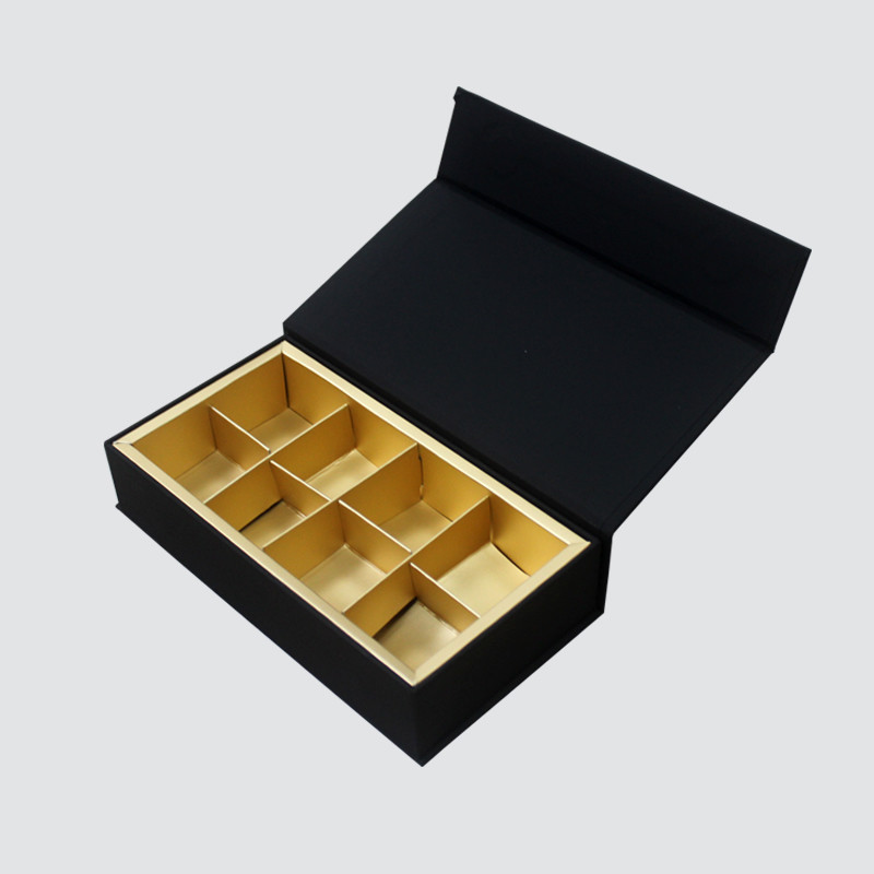 Custom Luxury Book Shape Magnet Chocolate Gift Box