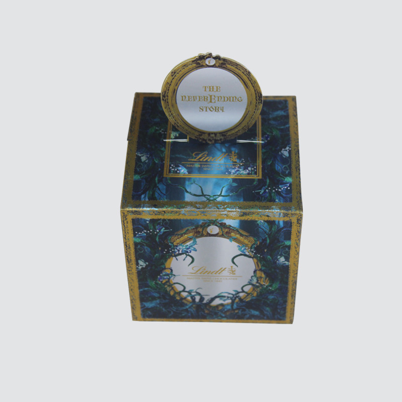 Custom Chocolate Colorful Crad box