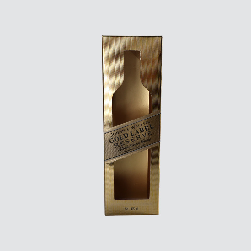 Custom Luxury Golden Wine Box for Gift Packaging