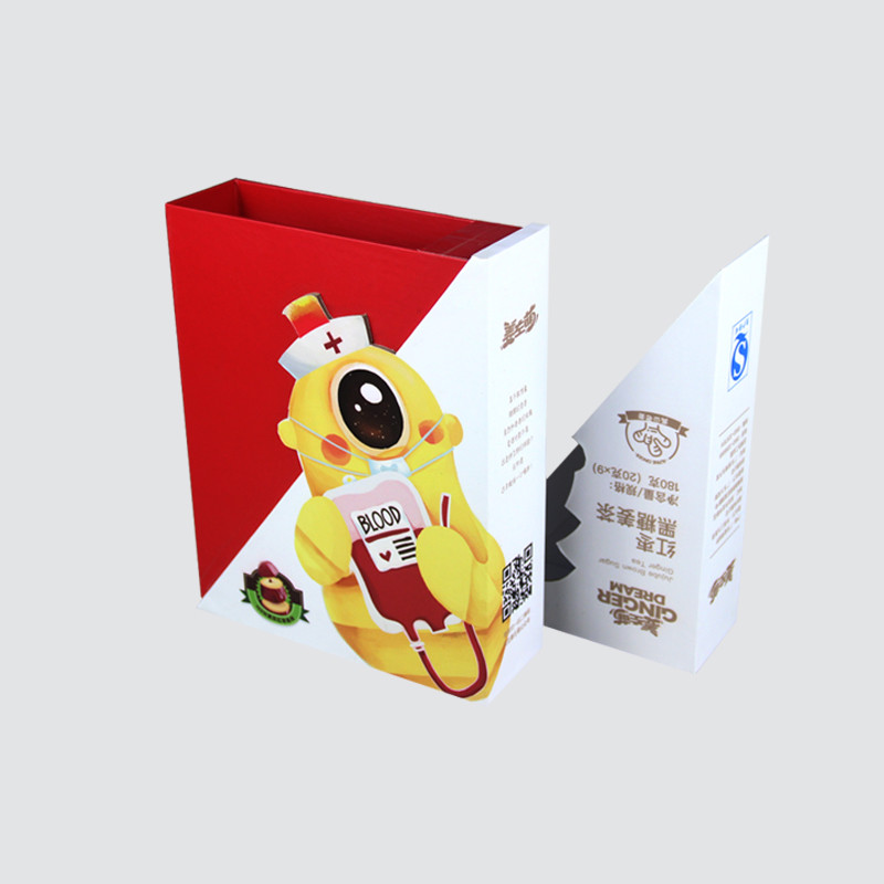 Special-shaped custom tea gifts  box