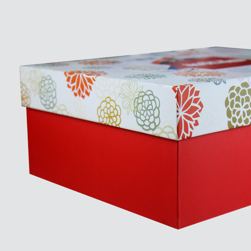 Custom Lid and Base Gift Food  Box