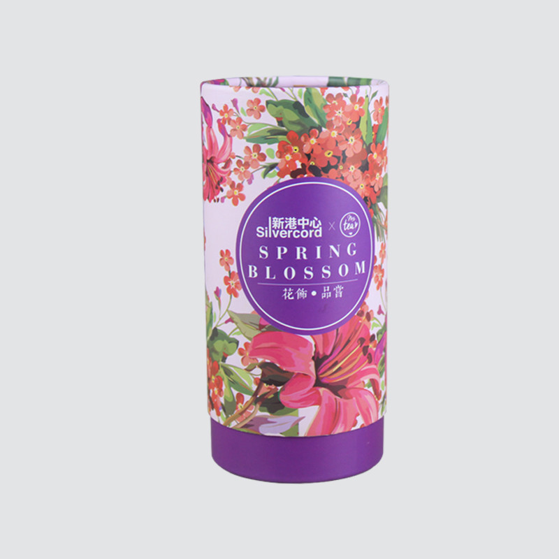 Custom Food Packaging Cylinder Gift  Box