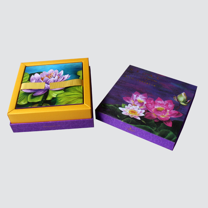 Custom Lid and Base Food Gift Box