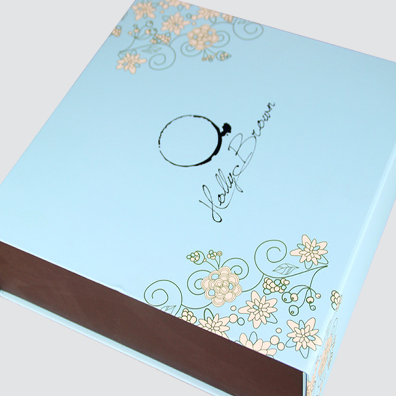 Book Shape Gift Box for Food Packaging