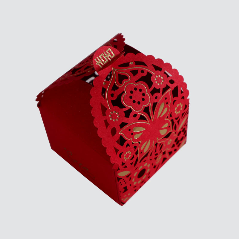 Beautiful Colorful Card Box for Wedding packaging