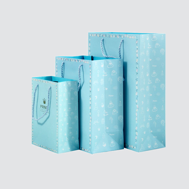 Custom shopping gift paper bag