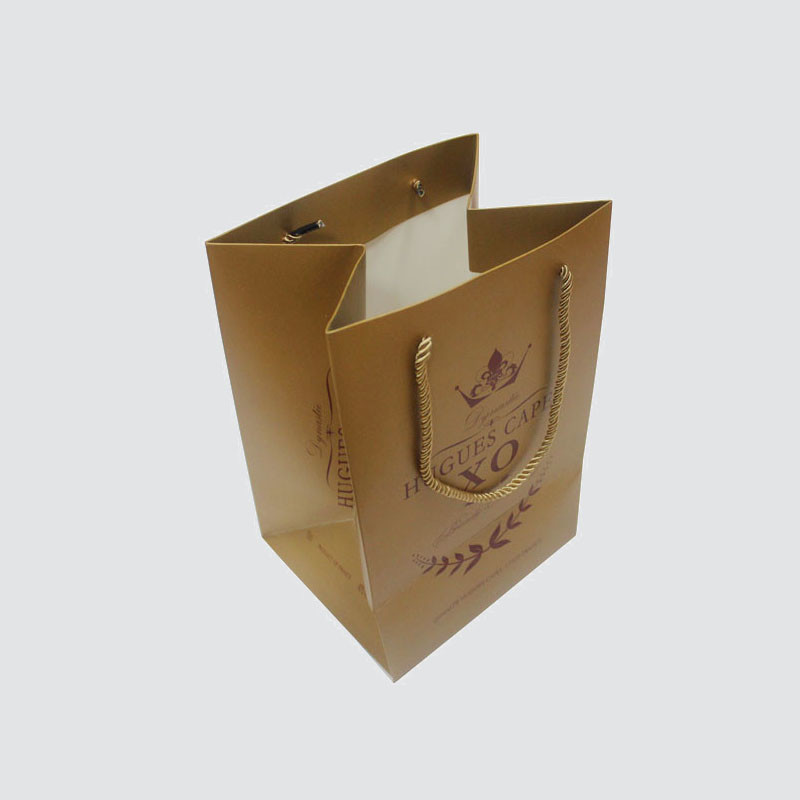 Custom karft paper bag with handle