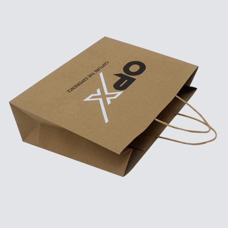 OEM paper shopping bags fashion design for gift box-1