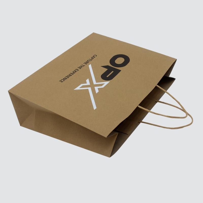 OEM paper shopping bags fashion design for gift box