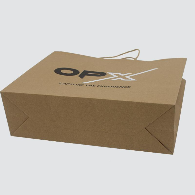 OEM paper shopping bags fashion design for gift box-2