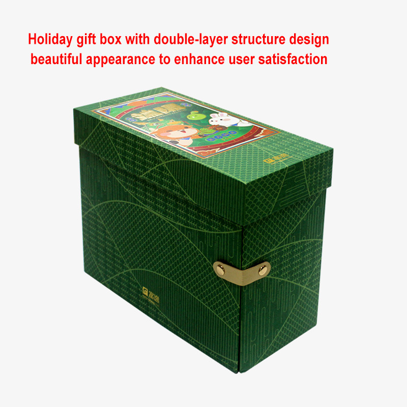 Custom lid and base gift box