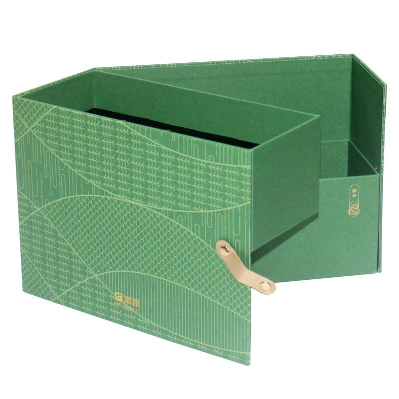 Charm Printing gift box OEM for festival packaging
