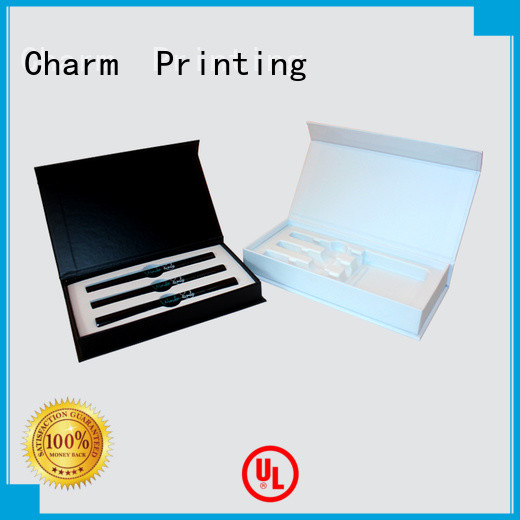CharmPrinting cardboard gift boxes health care product