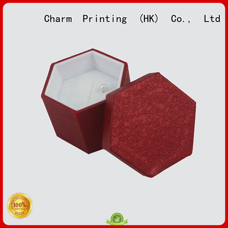 Charm Printing jewelry box high-quality for luxury box