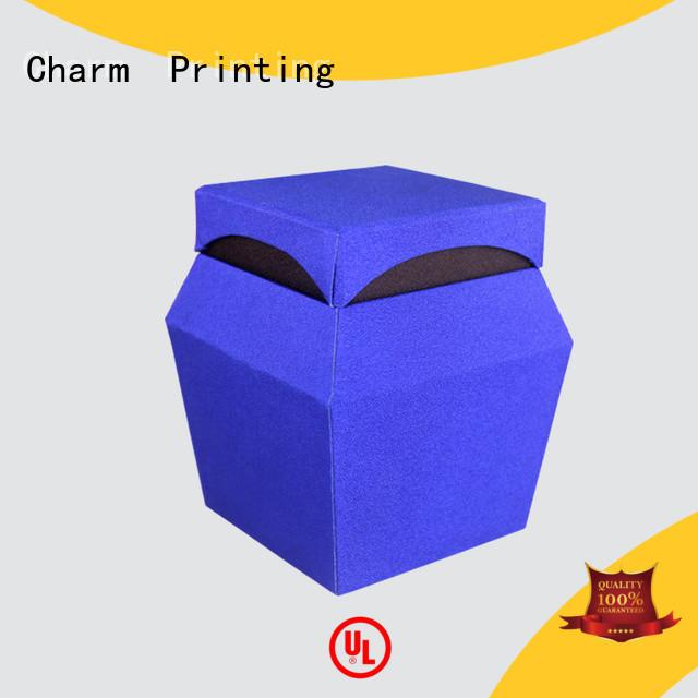 CharmPrinting customization perfume box colorful fragrance