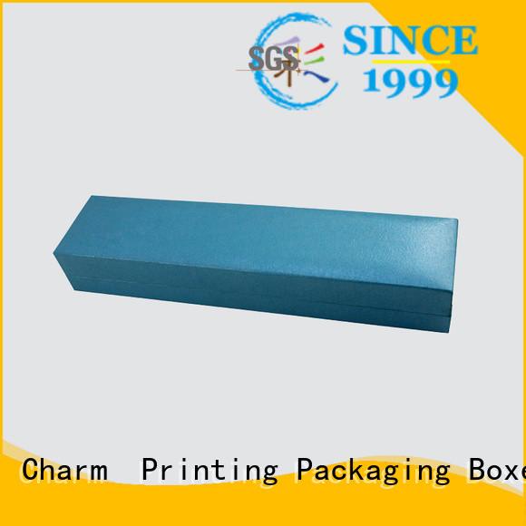 CharmPrinting jewelry box factory price for luxury box