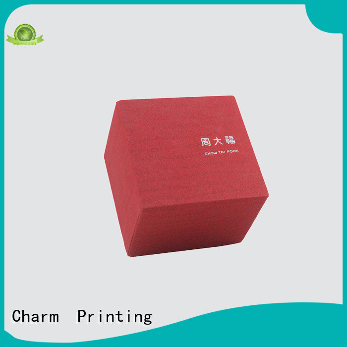 Charm Printing book shape jewelry packaging factory price for luxury box