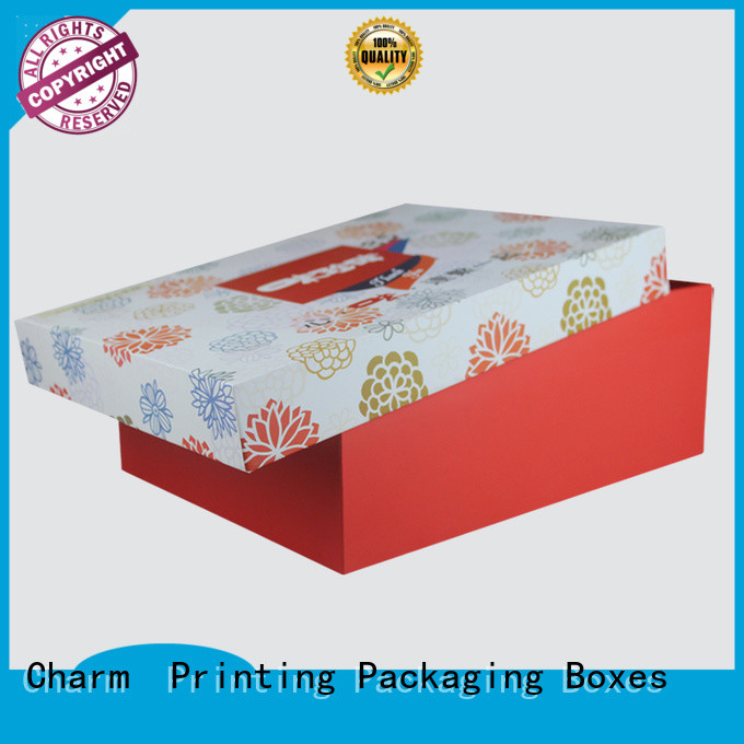 Charm Printing custom gift box handmade for food packaging