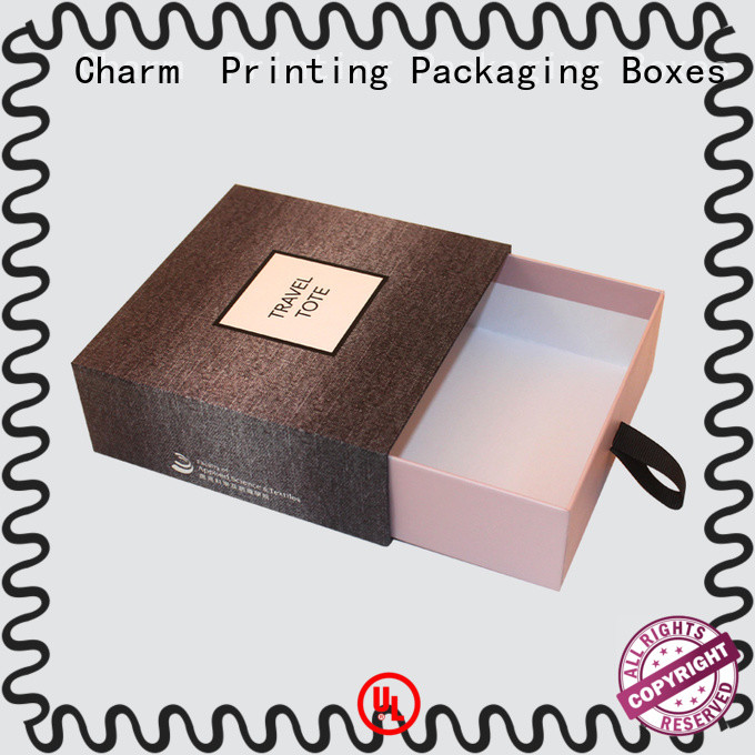 Charm Printing drawer type perfume box free sample for modern mowen