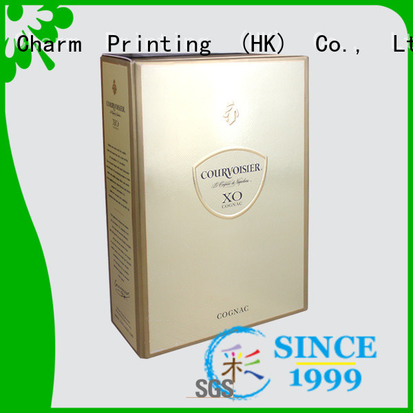 Charm Printing personalized wine gift box manufacturer wine packaging