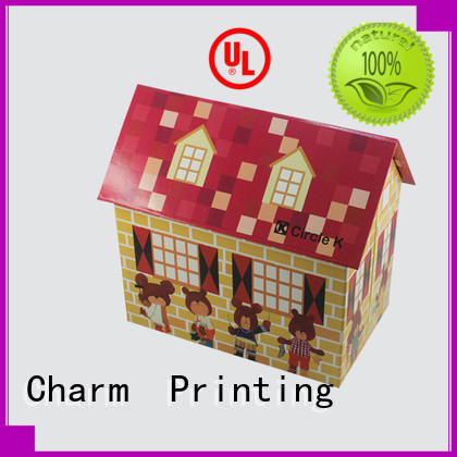 Charm Printing colorful toy packaging boxes buy now corrugated Box