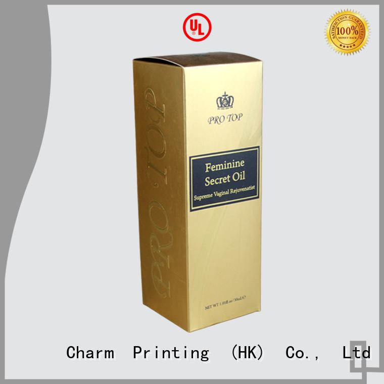 CharmPrinting wine gift box luxury design wine packaging
