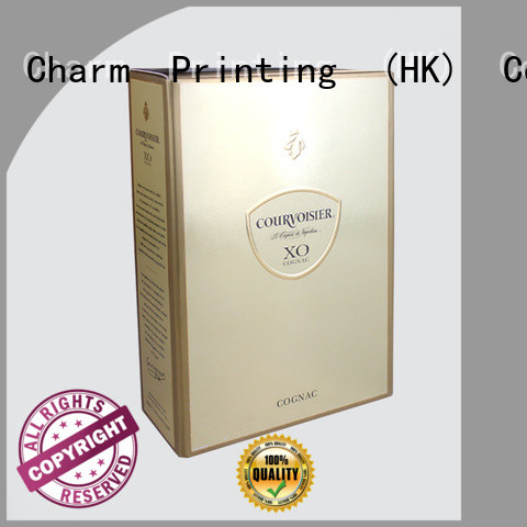 CharmPrinting personalized wine gift box manufacturer food packaging