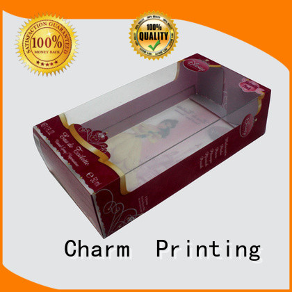 Charm Printing fashion design toy packaging boxes supplier toys packaging