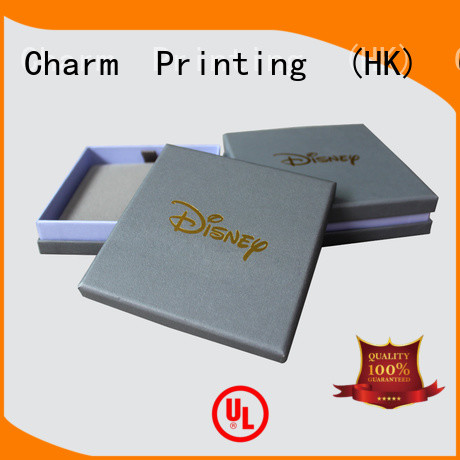 CharmPrinting jewelry packaging box luxury design for gift box
