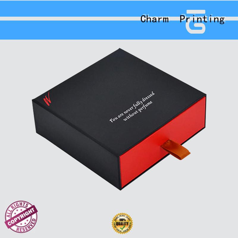 CharmPrinting drawer type fragrance box printing color for modern mowen