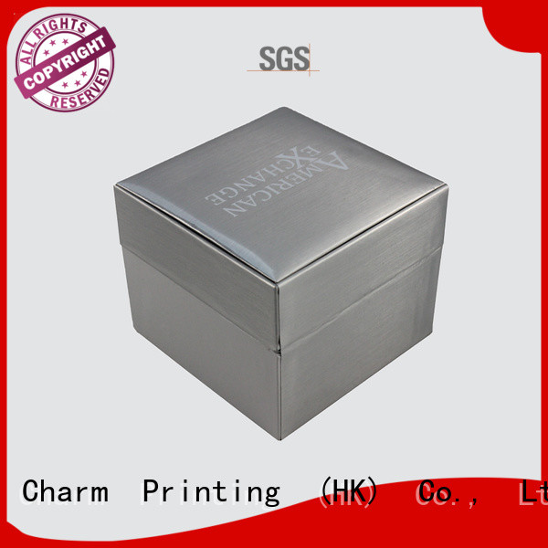 Charm Printing book shape jewelry packaging high-quality for gift box