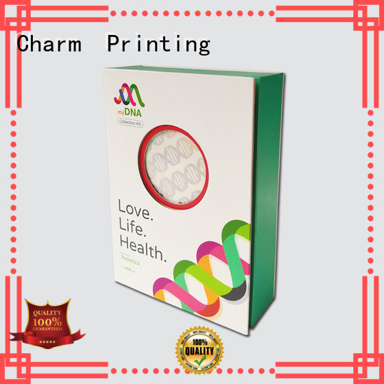 Charm Printing drawer type magnetic gift box health care product