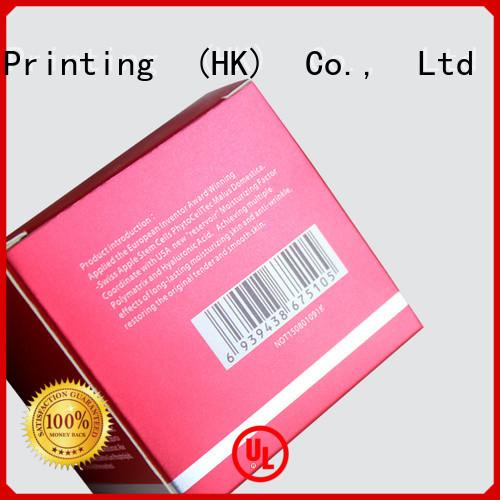 CharmPrinting customized cosmetic box uv printing storage