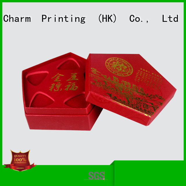 Charm Printing jewelry packaging box luxury design for gift box