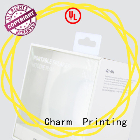 Charm Printing custom electronics packaging craft paper for gift box