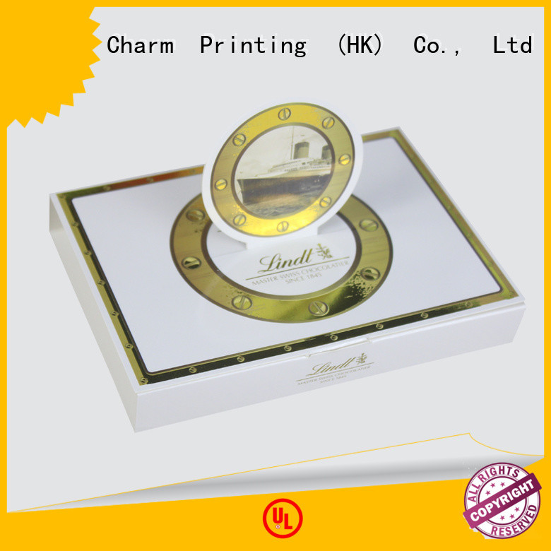 book shape chocolate box foil stamping gift box
