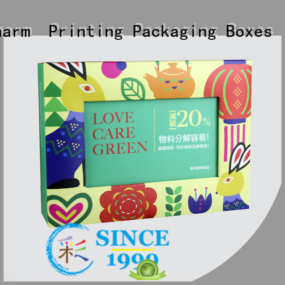 Charm Printing with tray gift box handmade for gift