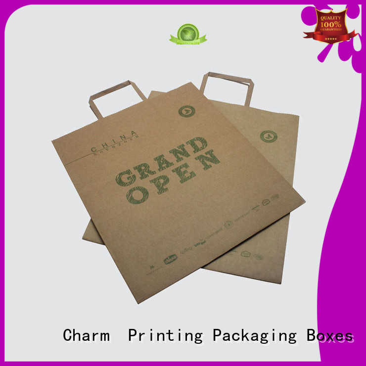 Charm Printing high-quality paper bag on-sale for shopping bag