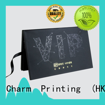 CharmPrinting custom gift box factory price for gifts
