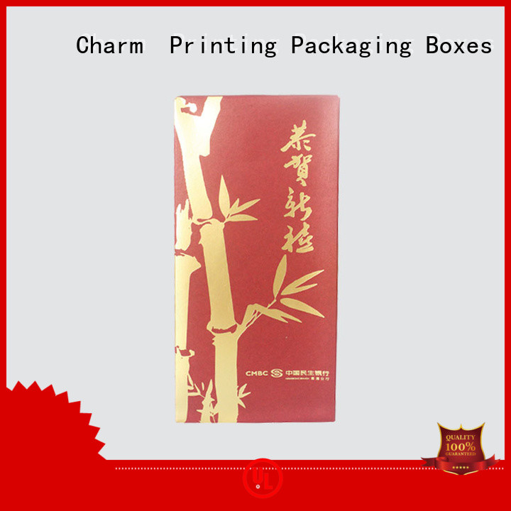 CharmPrinting book shape type gift box manufacturer for festival packaging